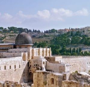 The walls of Jerusalem